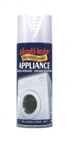 Plastikote Appliance Spray Paint 400Ml White