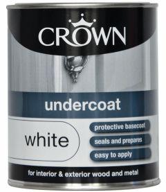 Crown Undercoat 750Ml Pure Brilliant White