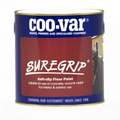 Coo-Var Suregrip Anti Slip Floor Paint 1L Black