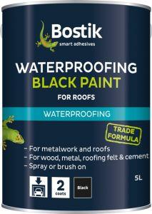 Bostik Bituminous Black Paint 1L