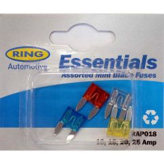 Ring Assorted Mini Blade Fuse