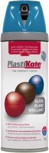 PlastiKote Twist & Spray Paint 400ml Exotic Sea Gloss