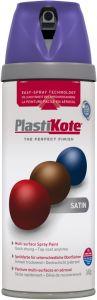 PlastiKote Twist & Spray Paint 400ml Sumptuous Purple Satin