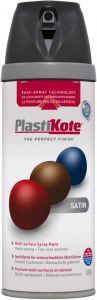 PlastiKote Twist & Spray Paint 400ml Black Satin