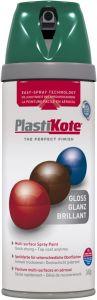 PlastiKote Twist & Spray Paint 400ml Lawn Green Gloss