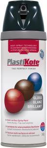 PlastiKote Twist & Spray Paint 400ml Black Gloss