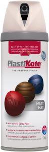 PlastiKote Twist & Spray Paint 400ml Antique White Matt