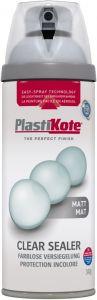 PlastiKote Twist & Spray Paint 400ml Clear Acrylic Matt
