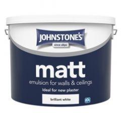 Johnstone's Matt - Brilliant White 10L