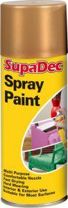 SupaDec Spray Paint 400ml Gold