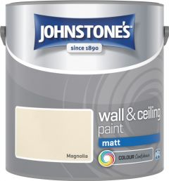 Johnstone's Wall & Ceiling Matt 2.5L Magnolia