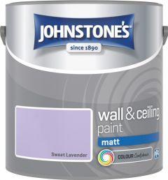 Johnstone's Wall & Ceiling Matt 2.5L Sweet Lavender