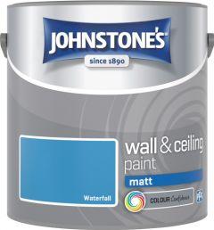 Johnstone's Wall & Ceiling Matt 2.5L Waterfall