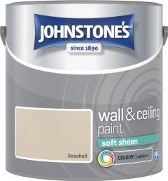 Johnstone's Wall & Ceiling Soft Sheen 2.5L Seashell
