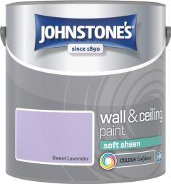 Johnstone's Wall & Ceiling Soft Sheen 2.5L Sweet Lavender
