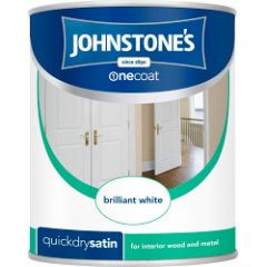 Johnstone's Quick Dry Satin 750ml Magnolia