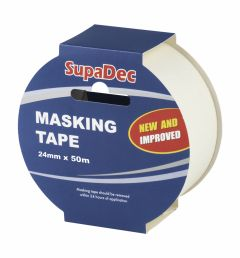 SupaDec Masking Tape 24mm x 50m