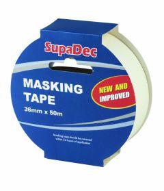 SupaDec Masking Tape 36mm x 50m