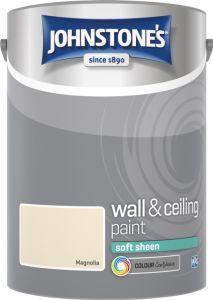 Johnstone's Wall & Ceiling Soft Sheen 5L Magnolia
