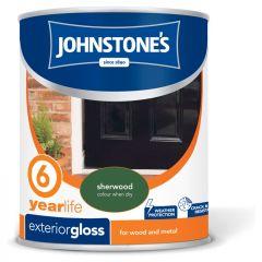 Johnstone's Exterior Hardwearing Gloss 750ml Sherwood