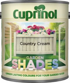 Cuprinol Garden Shades 1L Country Cream