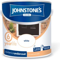 Johnstone's Exterior Undercoat 2.5L White