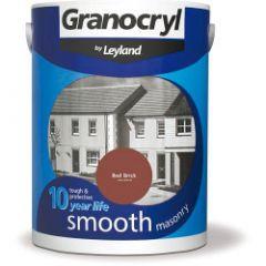 Granocryl Smooth Masonry 5L Red Brick
