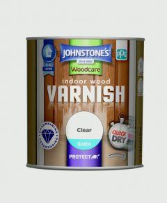 Johnstone's Indoor Wood Varnish - Clear Satin 250ml