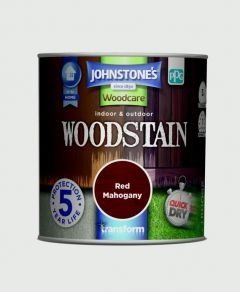 Johnstone's Indoor & Outdoor Woodstain 250ml Red Mahogany
