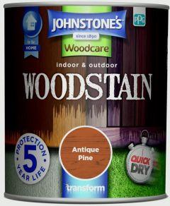 Johnstone's Indoor & Outdoor Woodstain 750ml Antique Pine