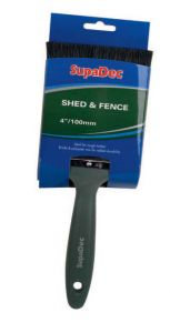SupaDec Shed & Fence Brush 4/100mm