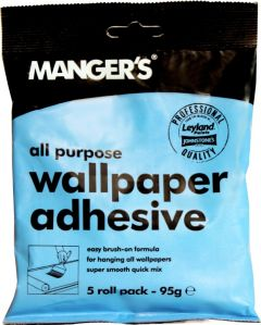Mangers All Purpose Wallpaper Adhesive 5 Roll