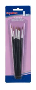 Supadec Artist Brush Set 6 Piece