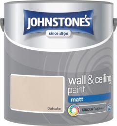 Johnstone's Wall & Ceiling Matt 2.5L Oatcake