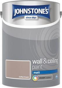 Johnstone's Wall & Ceiling Matt 5L Coffee Cream