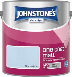 Johnstone's One Coat Matt 2.5L Blue Horizon