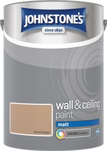 Johnstone's Wall & Ceiling Matt 5L Burnt Sugar