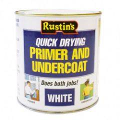 Rustins Quick Dry Primer & Undercoat 500Ml Grey