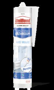 Unibond Anti-Mould Bathroom & Kitchen Sealant White