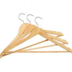 Supahome Wooden Hangers