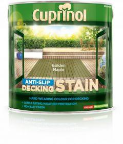 Cuprinol Anti Slip Decking Stain 2.5L Golden Maple