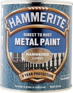 Hammerite Metal Paint Hammered 750Ml Copper