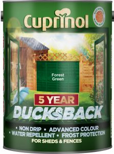 Cuprinol Ducksback 5L Forest Green