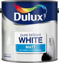 Dulux Matt 2.5L Pure Brilliant White