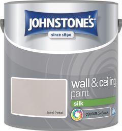 Johnstone's Wall & Ceiling Silk 2.5L Iced Petal