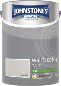 Johnstone's Wall & Ceiling Silk 5L China Clay