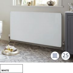 Vetro Horizontal Wet Frame White
