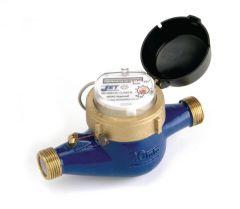 Jet pulsed BSP cold water meter 20mm