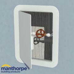 Manthorpe access panel 150 x 200mm White
