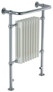 Wolseley Own Brand Nabis Katherine floor and wall mounted towel warmer 740 x 675mm